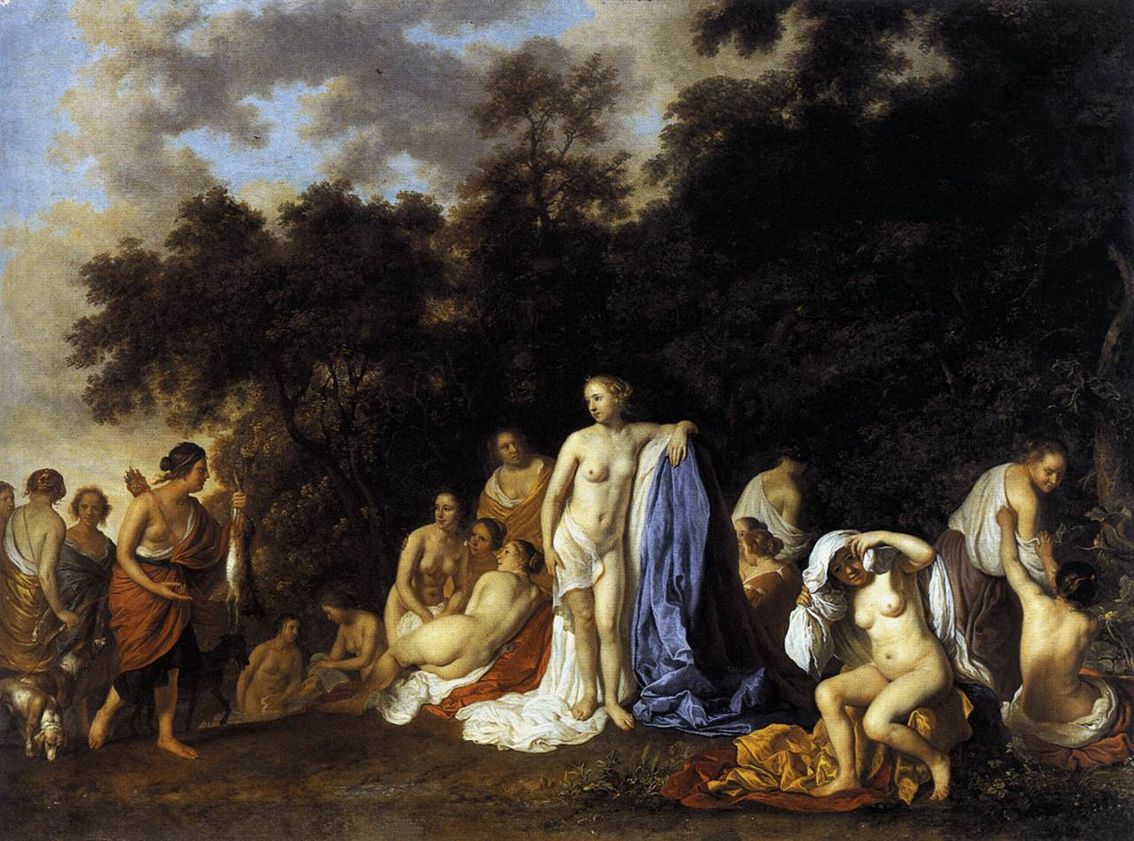 Diana and Her Nymphs
