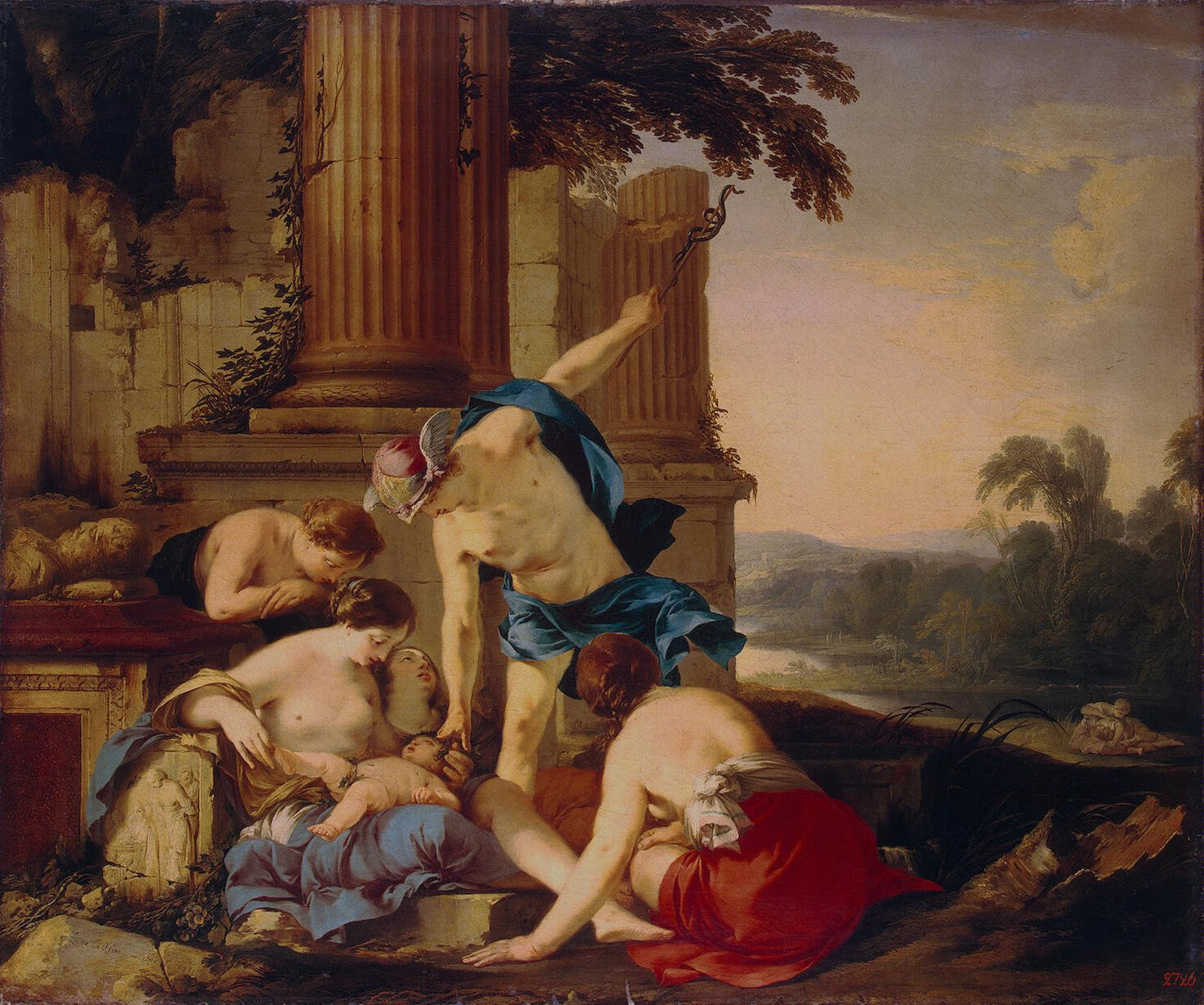Mercury Takes Bacchus to be Brought up by Nymphs